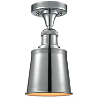 Innovations Lighting 517-1CH-PC-M9-PC-LED Addison LED 5 inch Polished Chrome Semi-Flush Mount Ceiling Light