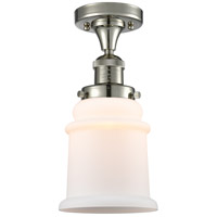 Innovations Lighting 517-1CH-PN-G181 Canton 1 Light 6 inch Polished Nickel Semi-Flush Mount Ceiling Light Franklin Restoration
