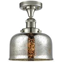 Innovations Lighting 517-1CH-PN-G78 Large Bell 1 Light 8 inch Polished Nickel Semi-Flush Mount Ceiling Light