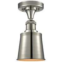 Innovations Lighting 517-1CH-PN-M9-LED Addison LED 5 inch Polished Nickel Semi-Flush Mount Ceiling Light Franklin Restoration