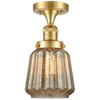 Innovations Lighting 517-1CH-SG-G146 Chatham 1 Light 6 inch Satin Gold Semi-Flush Mount Ceiling Light