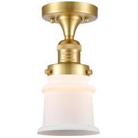 Innovations Lighting 517-1CH-SG-G181S Small Canton 1 Light 6 inch Satin Gold Semi-Flush Mount Ceiling Light