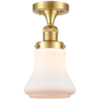 Innovations Lighting 517-1CH-SG-G191 Bellmont 1 Light 6 inch Satin Gold Semi-Flush Mount Ceiling Light