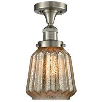 Innovations Lighting 517-1CH-SN-G146-LED Chatham LED 6 inch Satin Nickel Semi-Flush Mount Ceiling Light Franklin Restoration