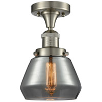 Innovations Lighting 517-1CH-SN-G173-LED Fulton LED 7 inch Brushed Satin Nickel Semi-Flush Mount Ceiling Light