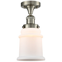 Innovations Lighting 517-1CH-SN-G181 Canton 1 Light 6 inch Brushed Satin Nickel Semi-Flush Mount Ceiling Light Franklin Restoration