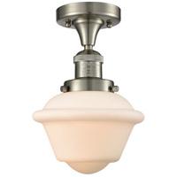 Innovations Lighting 517-1CH-SN-G531 Small Oxford 1 Light 8 inch Brushed Satin Nickel Semi-Flush Mount Ceiling Light Franklin Restoration