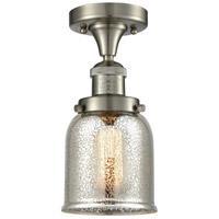 Innovations Lighting 517-1CH-SN-G58 Small Bell 1 Light 5 inch Satin Nickel Semi-Flush Mount Ceiling Light Franklin Restoration