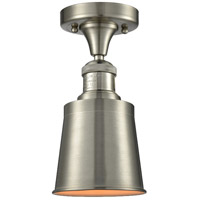 Innovations Lighting 517-1CH-SN-M9-SN-LED Addison LED 5 inch Brushed Satin Nickel Semi-Flush Mount Ceiling Light