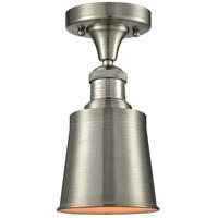 Innovations Lighting 517-1CH-SN-M9-SN Addison 1 Light 5 inch Satin Nickel Semi-Flush Mount Ceiling Light Franklin Restoration