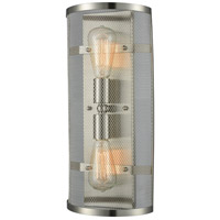 Quincy Hall 2 Light 8 inch Brushed Satin Nickel Wall Sconce Wall Light