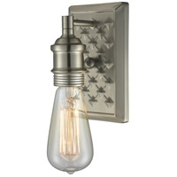Innovations Lighting 563-1W-BN Bare Bulb 1 Light 5 inch Brushed Satin Nickel Wall Sconce Wall Light photo thumbnail