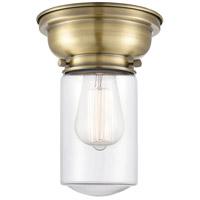 Innovations Lighting 623-1F-AB-G312 Dover 1 Light 6 inch Antique Brass Flush Mount Ceiling Light Aditi
