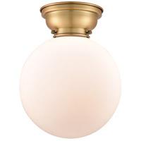 Innovations Lighting 623-1F-BB-G201-10-LED X-Large Beacon LED 10 inch Brushed Brass Flush Mount Ceiling Light Aditi