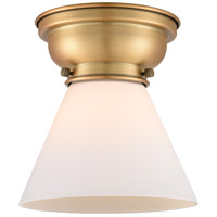 Brushed Brass Large Cone Flush Mounts