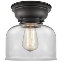 Innovations Lighting 623-1F-BK-G72-LED Large Bell LED 8 inch Matte Black Flush Mount Ceiling Light Aditi