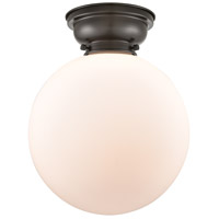 Innovations Lighting 623-1F-OB-G201-12-LED XX-Large Beacon LED 12 inch Oil Rubbed Bronze Flush Mount Ceiling Light, Aditi