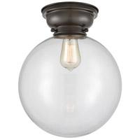 Innovations Lighting 623-1F-OB-G202-12-LED XX-Large Beacon LED 12 inch Oil Rubbed Bronze Flush Mount Ceiling Light, Aditi