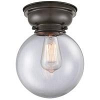 Innovations Lighting 623-1F-OB-G202-8-LED Large Beacon LED 8 inch Oil Rubbed Bronze Flush Mount Ceiling Light, Aditi