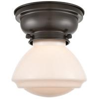 Innovations Lighting 623-1F-OB-G321 Olean 1 Light 7 inch Oil Rubbed Bronze Flush Mount Ceiling Light Aditi