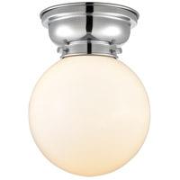 Innovations Lighting 623-1F-PC-G201-8-LED Large Beacon LED 8 inch Polished Chrome Flush Mount Ceiling Light, Aditi