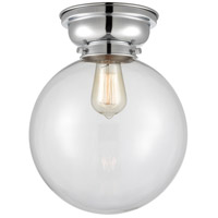 Innovations Lighting 623-1F-PC-G202-10 X-Large Beacon 1 Light 10 inch Polished Chrome Flush Mount Ceiling Light Aditi
