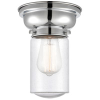 Innovations Lighting 623-1F-PC-G314-LED Aditi Dover LED 6 inch Polished Chrome Flush Mount Ceiling Light in Seedy Glass, Aditi photo thumbnail