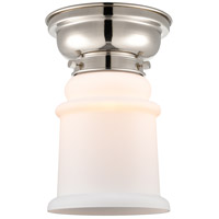 Innovations Lighting 623-1F-PN-G181-LED Canton LED 6 inch Polished Nickel Flush Mount Ceiling Light, Aditi