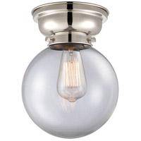 Innovations Lighting 623-1F-PN-G202-8-LED Large Beacon LED 8 inch Polished Nickel Flush Mount Ceiling Light, Aditi