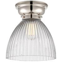 Innovations Lighting 623-1F-PN-G222-LED Seneca Falls LED 10 inch Polished Nickel Flush Mount Ceiling Light Aditi