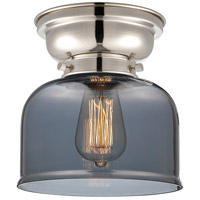 Innovations Lighting 623-1F-PN-G73 Large Bell 1 Light 8 inch Polished Nickel Flush Mount Ceiling Light Aditi