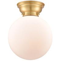 Innovations Lighting 623-1F-SG-G201-10-LED X-Large Beacon LED 10 inch Satin Gold Flush Mount Ceiling Light Aditi