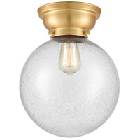 Innovations Lighting 623-1F-SG-G204-10-LED X-Large Beacon LED 10 inch Satin Gold Flush Mount Ceiling Light Aditi