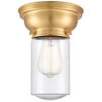 Innovations Lighting 623-1F-SG-G314-LED Dover LED 6 inch Satin Gold Flush Mount Ceiling Light Aditi