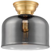 Innovations Lighting 623-1F-SG-G73-L-LED X-Large Bell LED 12 inch Satin Gold Flush Mount Ceiling Light Aditi