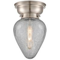 Innovations Lighting 623-1F-SN-G165 Geneseo 1 Light 7 inch Satin Nickel Flush Mount Ceiling Light, Aditi