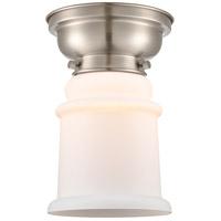 Innovations Lighting 623-1F-SN-G181 Canton 1 Light 6 inch Satin Nickel Flush Mount Ceiling Light Aditi