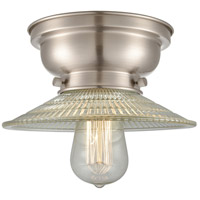 Innovations Lighting 623-1F-SN-G2 Halophane 1 Light 9 inch Brushed Satin Nickel Flush Mount Ceiling Light Aditi