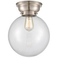 Innovations Lighting 623-1F-SN-G202-10 X-Large Beacon 1 Light 10 inch Satin Nickel Flush Mount Ceiling Light, Aditi