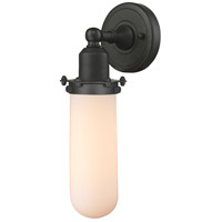 Innovations Lighting 900-1W-OB-CE228-OB-W-LED Centri LED 5 inch Oil Rubbed Bronze Sconce Wall Light Austere
