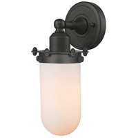 Innovations Lighting 900-1W-OB-CE231-OB-W-LED Centri LED 5 inch Oil Rubbed Bronze Sconce Wall Light Austere