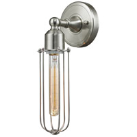 Innovations Lighting 900-1W-SN-CE225-SN-LED Muselet LED 5 inch Satin Nickel Sconce Wall Light Austere