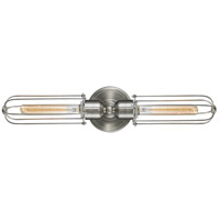 Innovations Lighting 900-2W-SN-CE225-SN-LED Muselet LED 22 inch Satin Nickel Bath Vanity Light Wall Light Austere