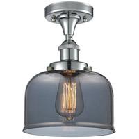 Innovations Lighting 916-1C-PC-G73 Large Bell 1 Light 8 inch Polished Chrome Semi-Flush Mount Ceiling Light Ballston