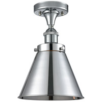 Innovations Lighting 916-1C-PC-M13-PC Appalachian 1 Light 7 inch Polished Chrome Semi-Flush Mount Ceiling Light Ballston