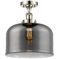 Innovations Lighting 916-1C-PN-G73-L X-Large Bell 1 Light 8 inch Polished Nickel Semi-Flush Mount Ceiling Light