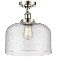Innovations Lighting 916-1C-PN-G74-L X-Large Bell 1 Light 8 inch Polished Nickel Semi-Flush Mount Ceiling Light