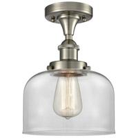 Innovations Lighting 916-1C-SN-G72 Large Bell 1 Light 8 inch Satin Nickel Semi-Flush Mount Ceiling Light Ballston