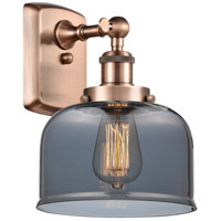 Innovations Lighting 916-1W-AC-G73 Large Bell 1 Light 8 inch Antique Copper Sconce Wall Light