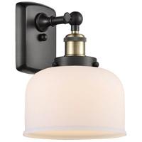 Innovations Lighting 916-1W-BAB-G71 Large Bell 1 Light 8 inch Black Antique Brass Sconce Wall Light